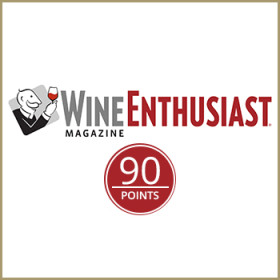 90/100<span>Wine Enthusiast</span>