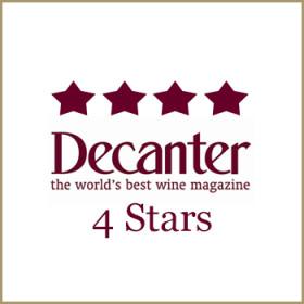 4 Stars<span>Decanter </span>