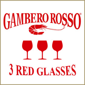 3 red glasses<span>Gambero Rosso</span>