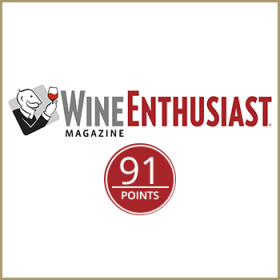 91/100<span> Wine Enthusiast</span>