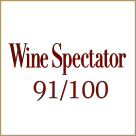 91/100<span>Wine Spectator</span>